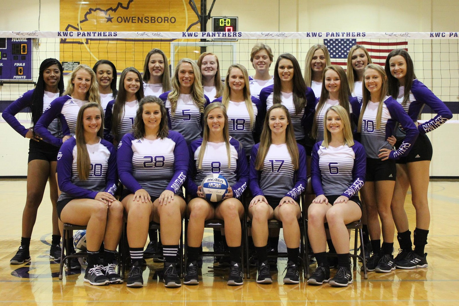 2017 Volleyball Roster Kentucky Wesleyan College Athletics
